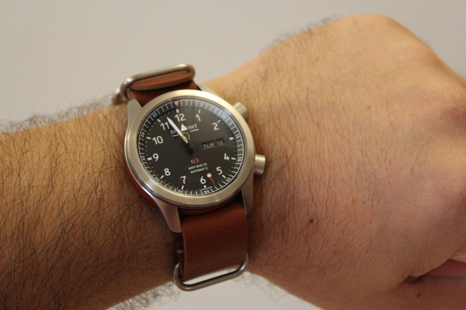Bremont MBII on-wrist