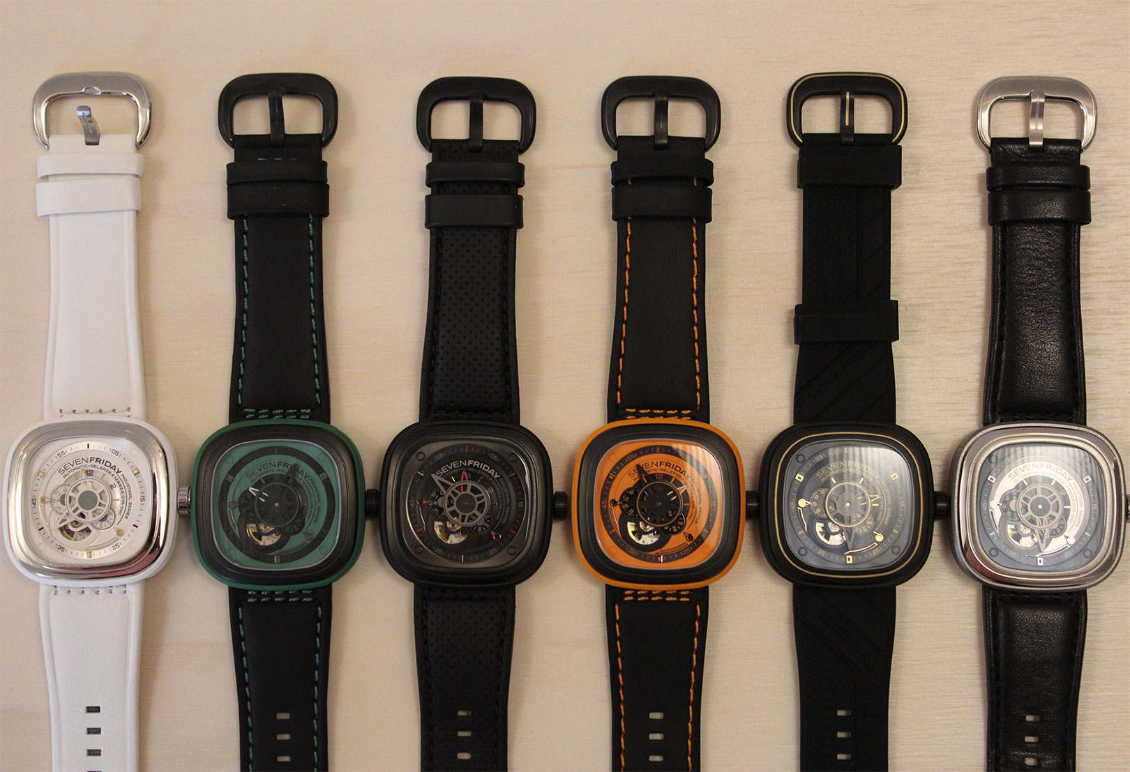 Sevenfriday watch collection