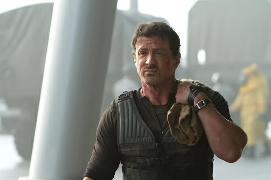 Sylvester Stallone In Expendables 2 Wallpapers: INTERVIEW: Panerai Central On Watches On Screen