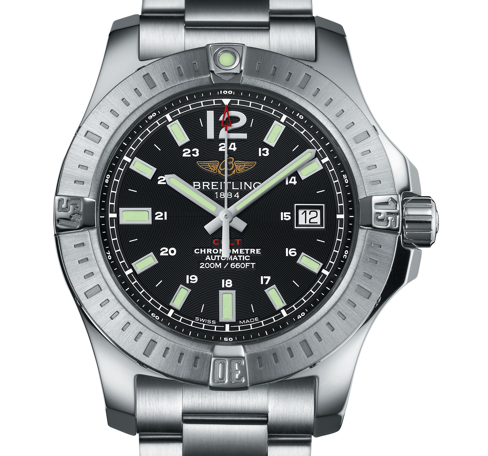 Brietling colt receives a revamp for Breitling automatic