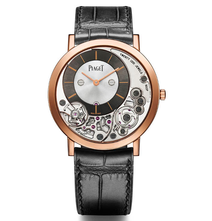 The Piaget Altiplano 900P - currently the world's thinnest production watch
