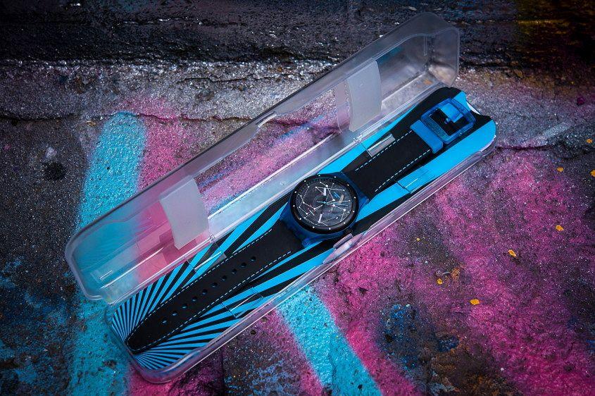 New Swatch Sistem 51 Blue Dial