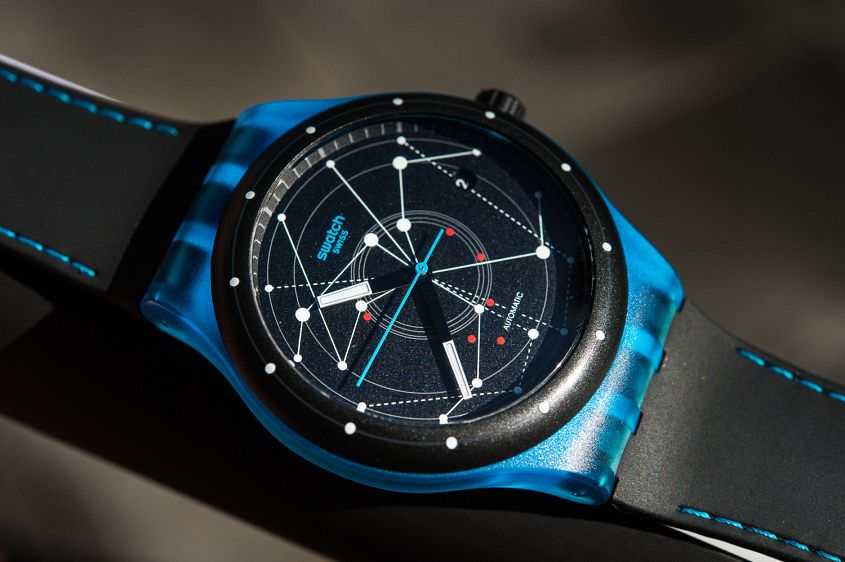 Swatch Sistem51 BLUE in Melbourne Australia