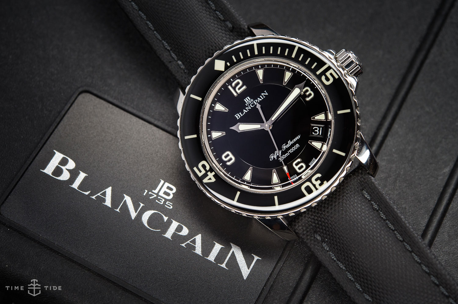 Why I Love the Blancpain Fifty Fathoms