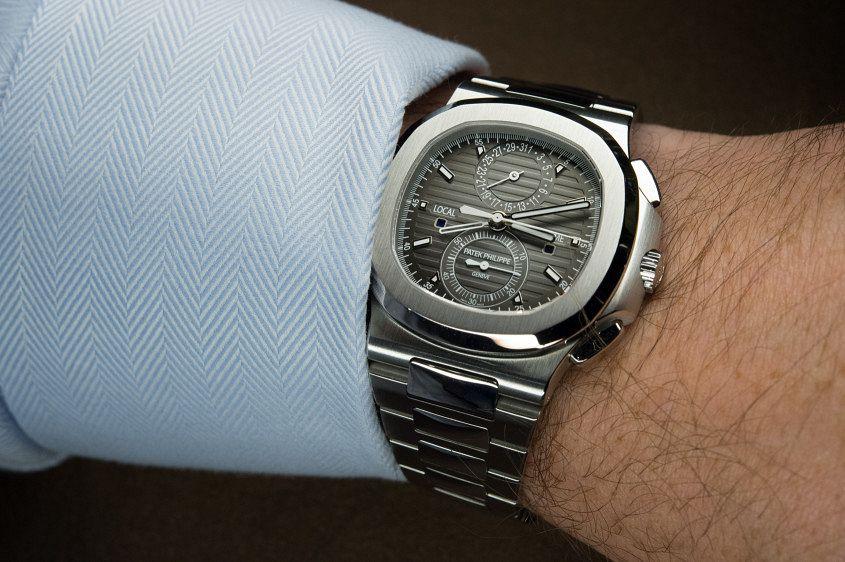 Patek Philippe Nautilus 5990/1A Travel Time Chronograph