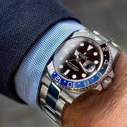 Rolex GMT Master II BLNR Swiss Watch Luxury