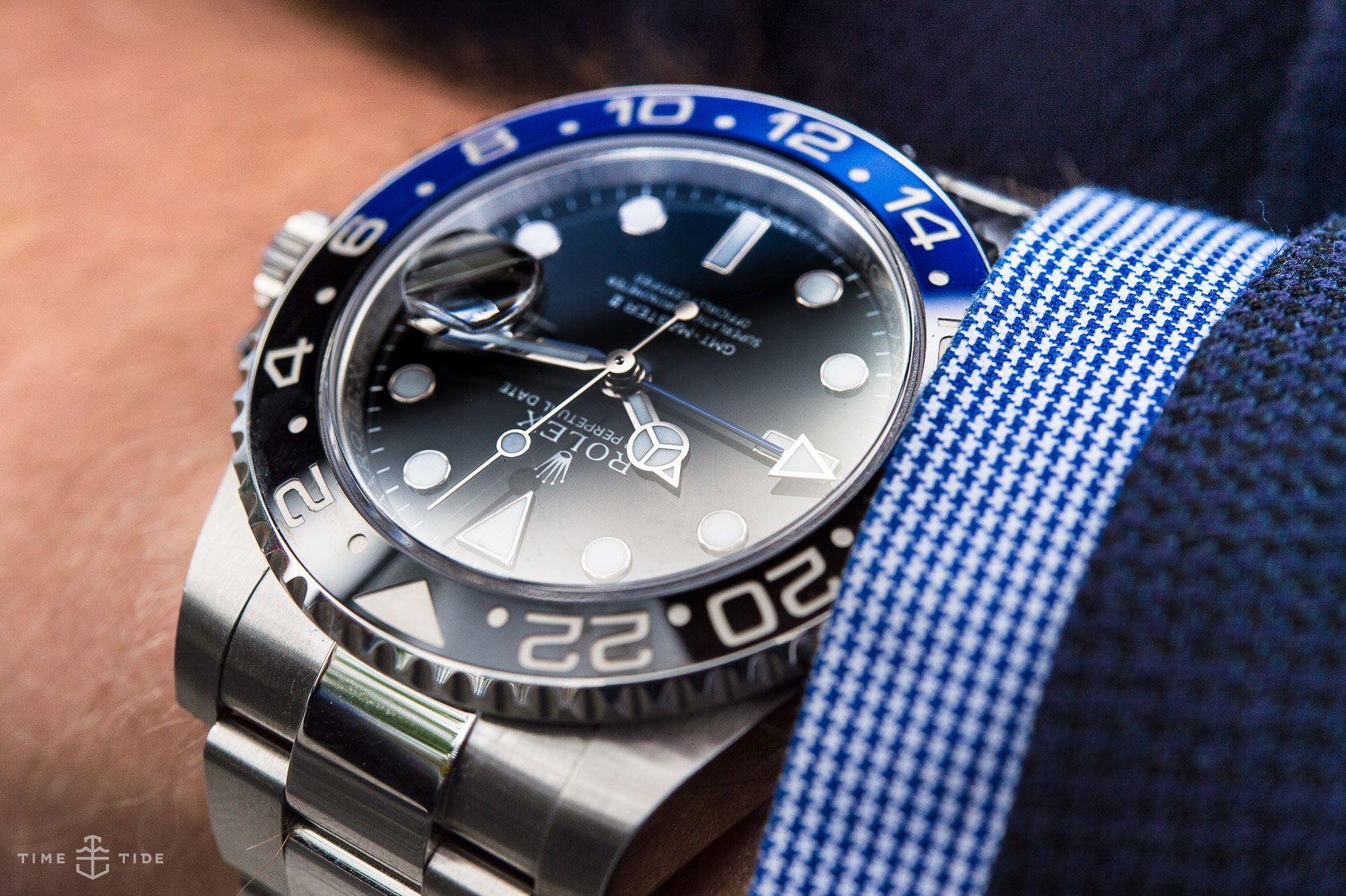 Second Hand Rolex Watches >> IN-DEPTH REVIEW: The Rolex GMT Master II BLNR review
