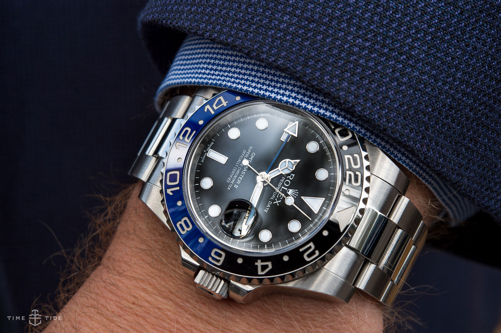 In Depth Review The Rolex Gmt Master Ii Blnr Review