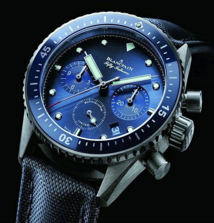 Blancpain-Ocean-Commitment-Bathyscaphe-Chronographe-Flyback-Limited-Edition-watch