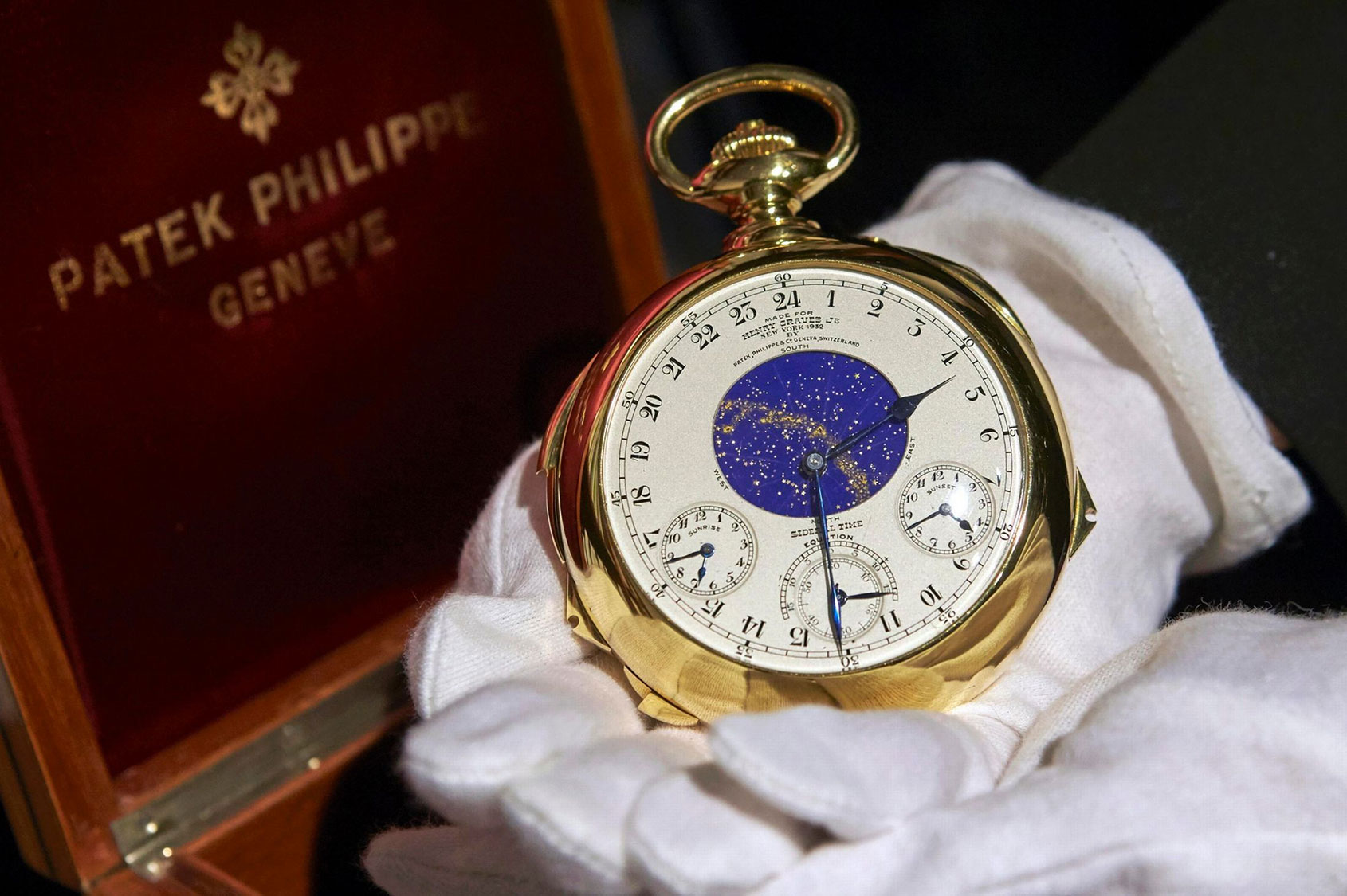 henry jnr patek philippe supercomplication sells