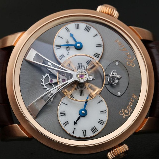 We went into the meeting with MB&F curious but undecided - though we all love love the Legacy Machine 1, pictured - and walked away staunch supporters of their mission; what did their Head of Communications do or say to change our minds? Find out on the site️ pic by @ablogtowatch