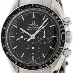 """The Classic – Omega – Speedmaster Professional The 'Moonwatch' is the ultimate functional chronograph, with a supremely legible matte dial and a chameleonic character which completely changes on bracelet, NATO or leather strap. There is no need for a 'vintage' and 'latest' image here as they are one and the same: the 'Moonwatch' has remained practically unchanged since it was worn by Buzz Aldrin when he walked on the surface of the moon in 1969. """"The Speedmaster Professional as it is is what the consumer wants,"""" Omega president Stephen Urquhart says. """"And NASA are very happy with the watch as it is too."""" """"Few watches fit in the realm of the 'Speedie' when it comes to value, quality, true icon status and of course its story. Nothing can hold a candle to it,"""" Chylinski says. """"And the plexiglass and matte dial is the perfect recipe for hackability. You can wear it on a canvas NATO, a distressed leather strap or its bracelet and it will look great."""""""