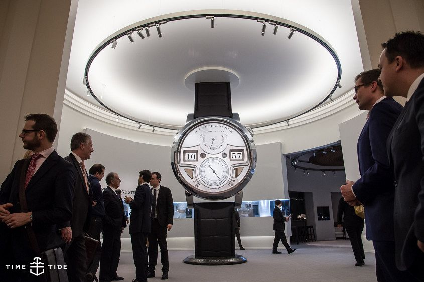 A Lange & Sohne SIHH Booth 1