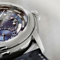 PRE-BASEL: The Frederique Constant Classic Manufacture Worldtimer Blue