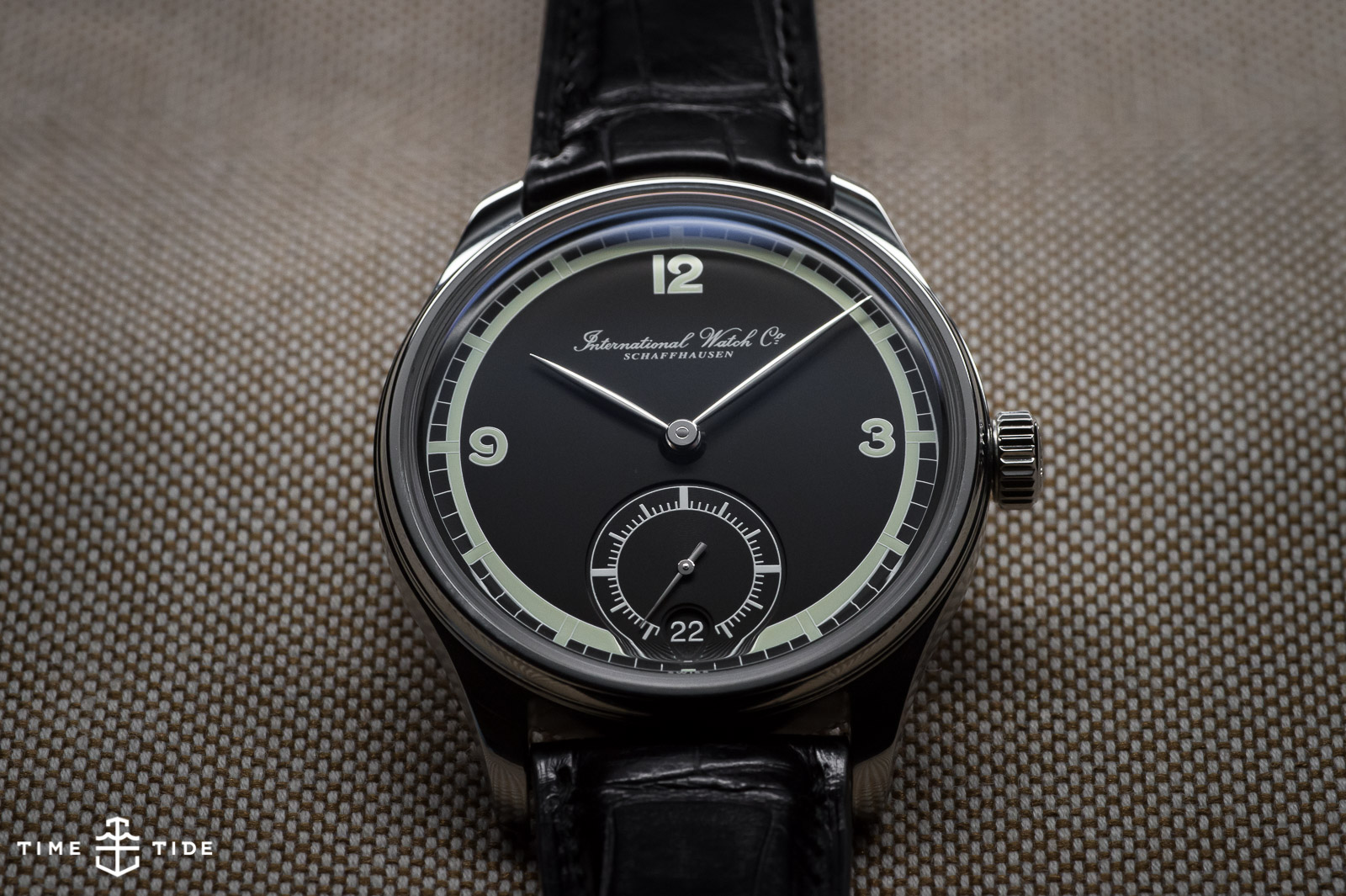 IWC Portugieser Hand Wound Eight Days - wristwatches are more relevant