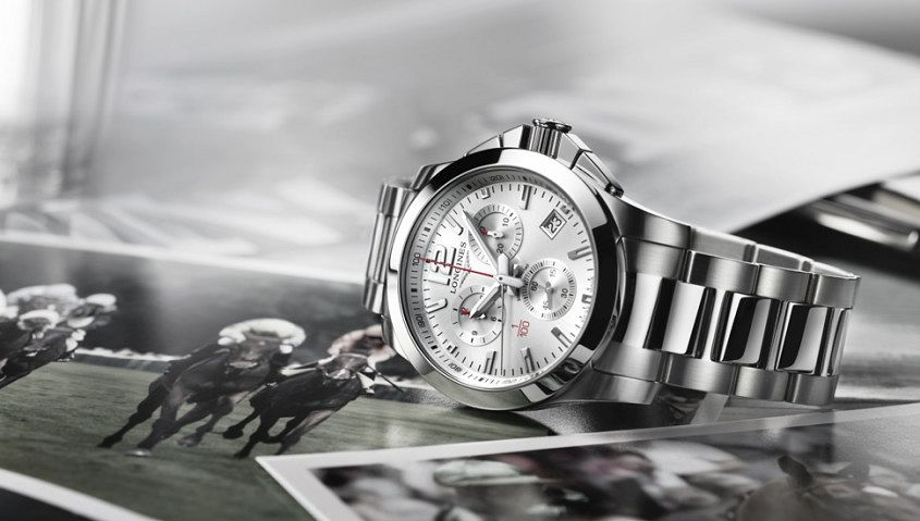 conquest Longines connection to horse racing