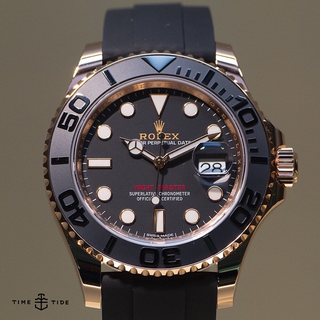 Instagram New Rolex Yachtmaster Now In Everose And