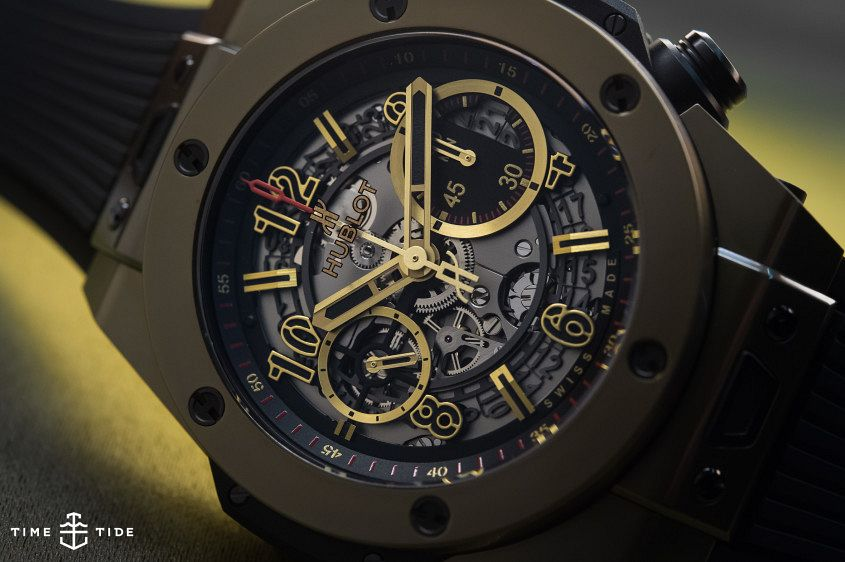 HUBLOT BIG BANG UNICO FULL MAGIC GOLD-2