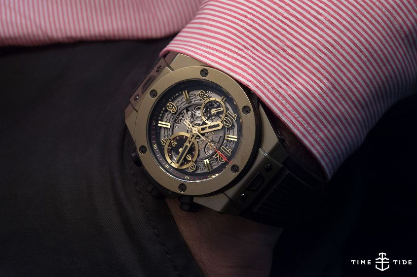 HUBLOT BIG BANG UNICO FULL MAGIC GOLD-4