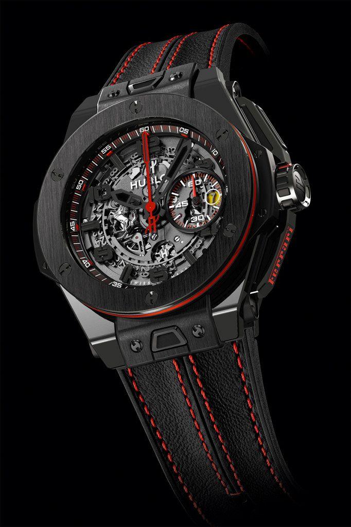 Hublot-Big-Bang-Ferrari-Red-Magic-Carbon-1