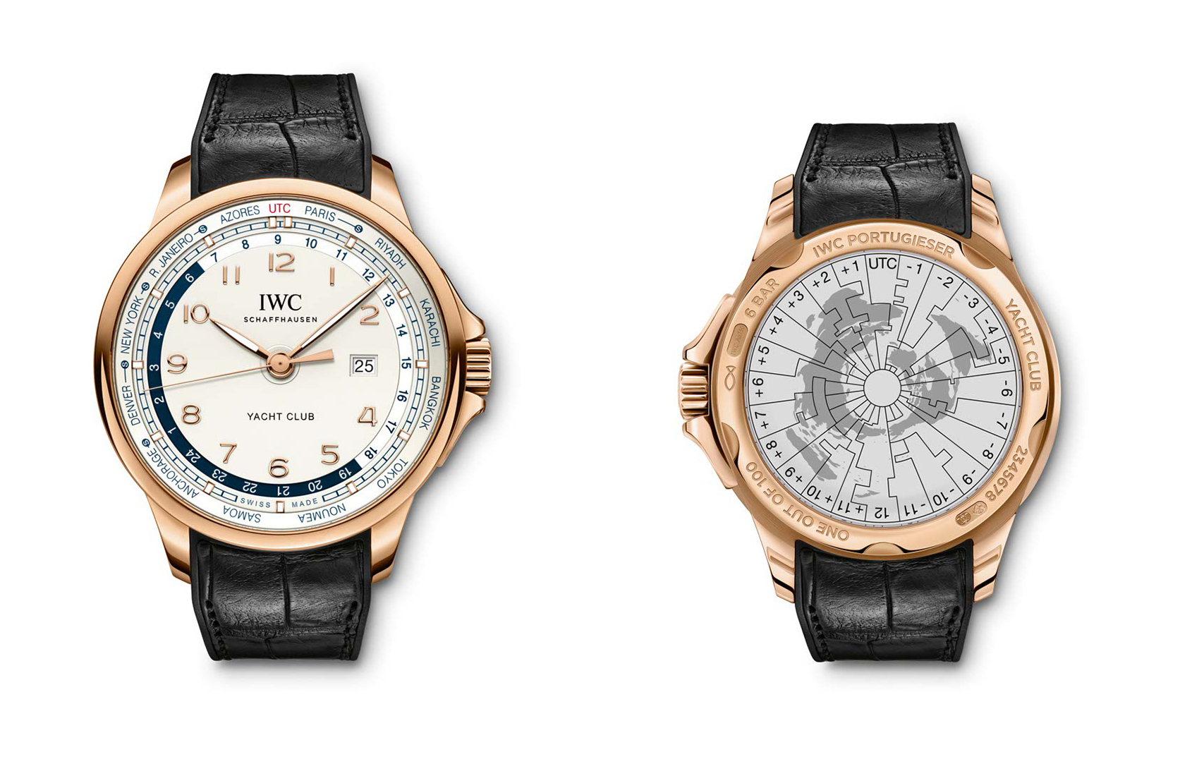 detailed look a18c0 ef903 IWC Portugieser Yacht Club Worldtimer – New for 2014