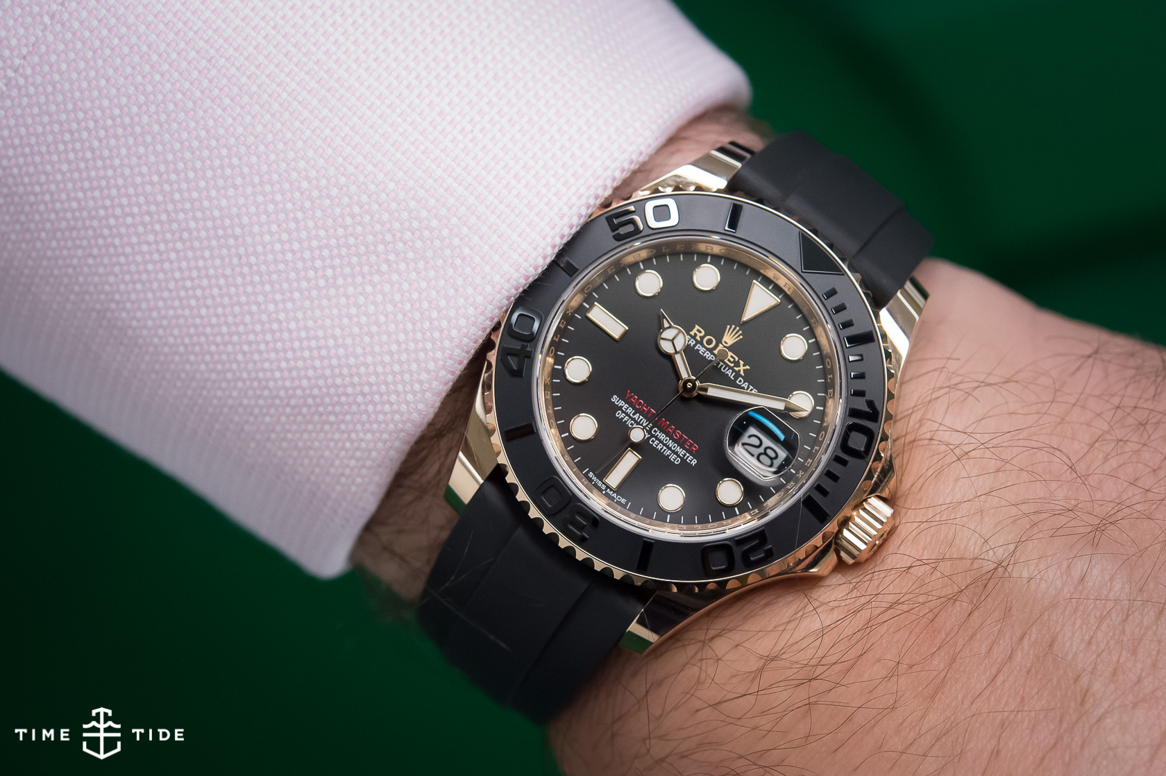 Hands On The Rolex Oyster Perpetual Yacht Master 116655