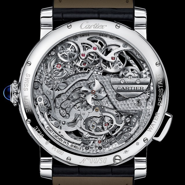 NOW LIVE ONLINE: The caseback may bring to mind the SAW movies (or is that just me) but the face and the wider meaning of this extraordinary watch is good-scary, not bad. Read it all at the site in the profile link ️