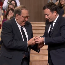 VIDEO: Jimmy Fallon gives his father-in-law a Bremont on live TV