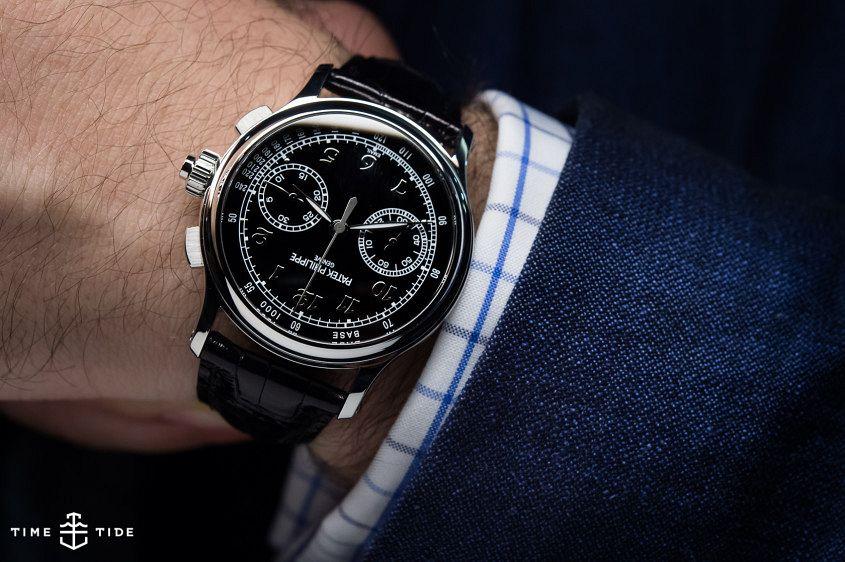Patek Philippe split-seconds chronograph Ref.5370P-8