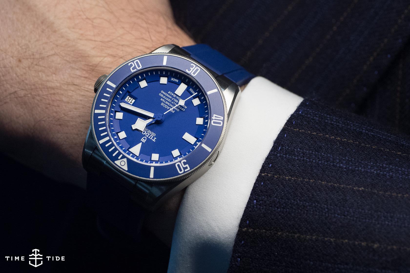 Tudor Pelagos Blue Ref 25600TB – Handson Review