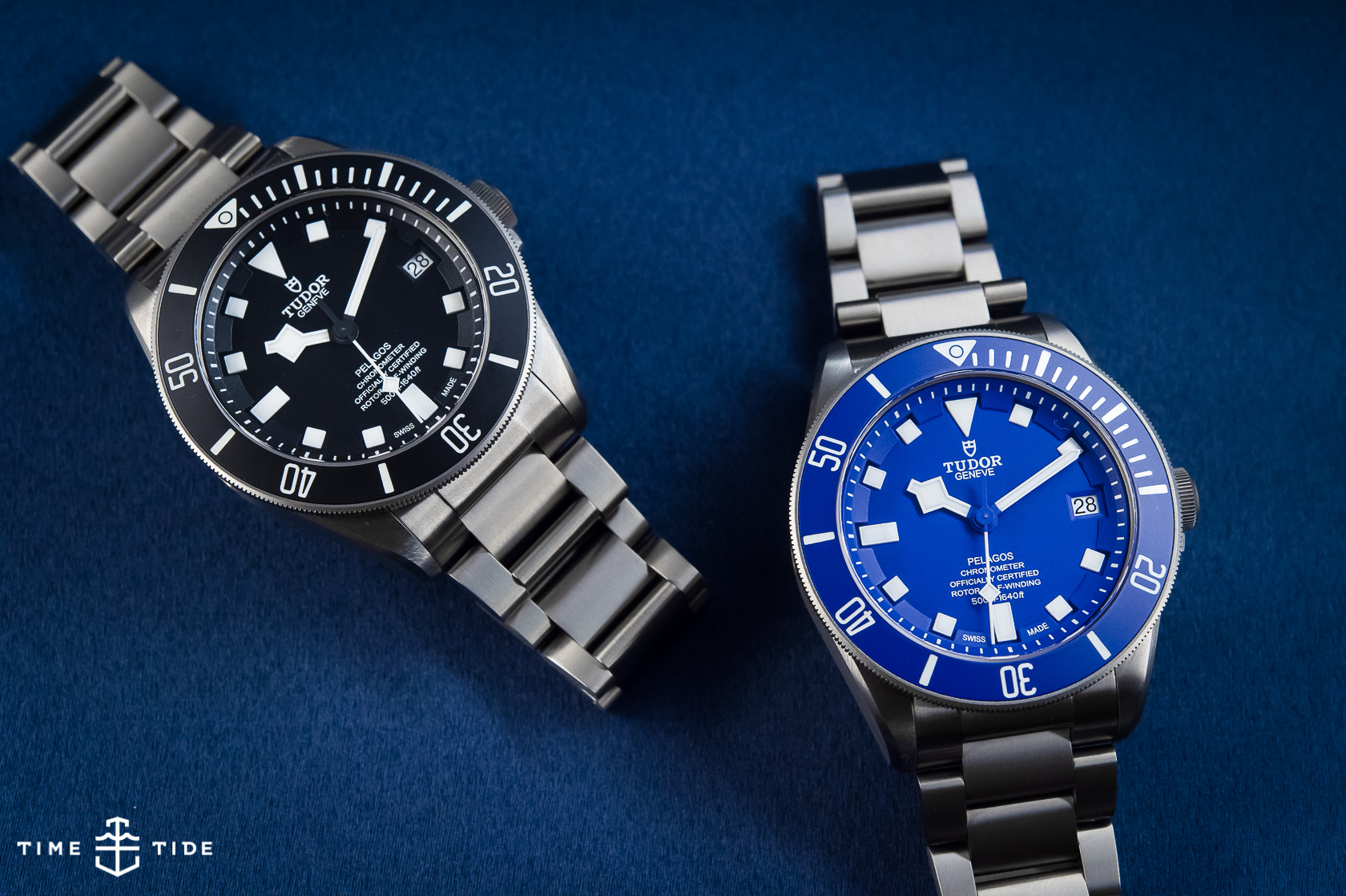 Hands On The Tudor Pelagos Blue Ref 25600tb Time And Tide Watches