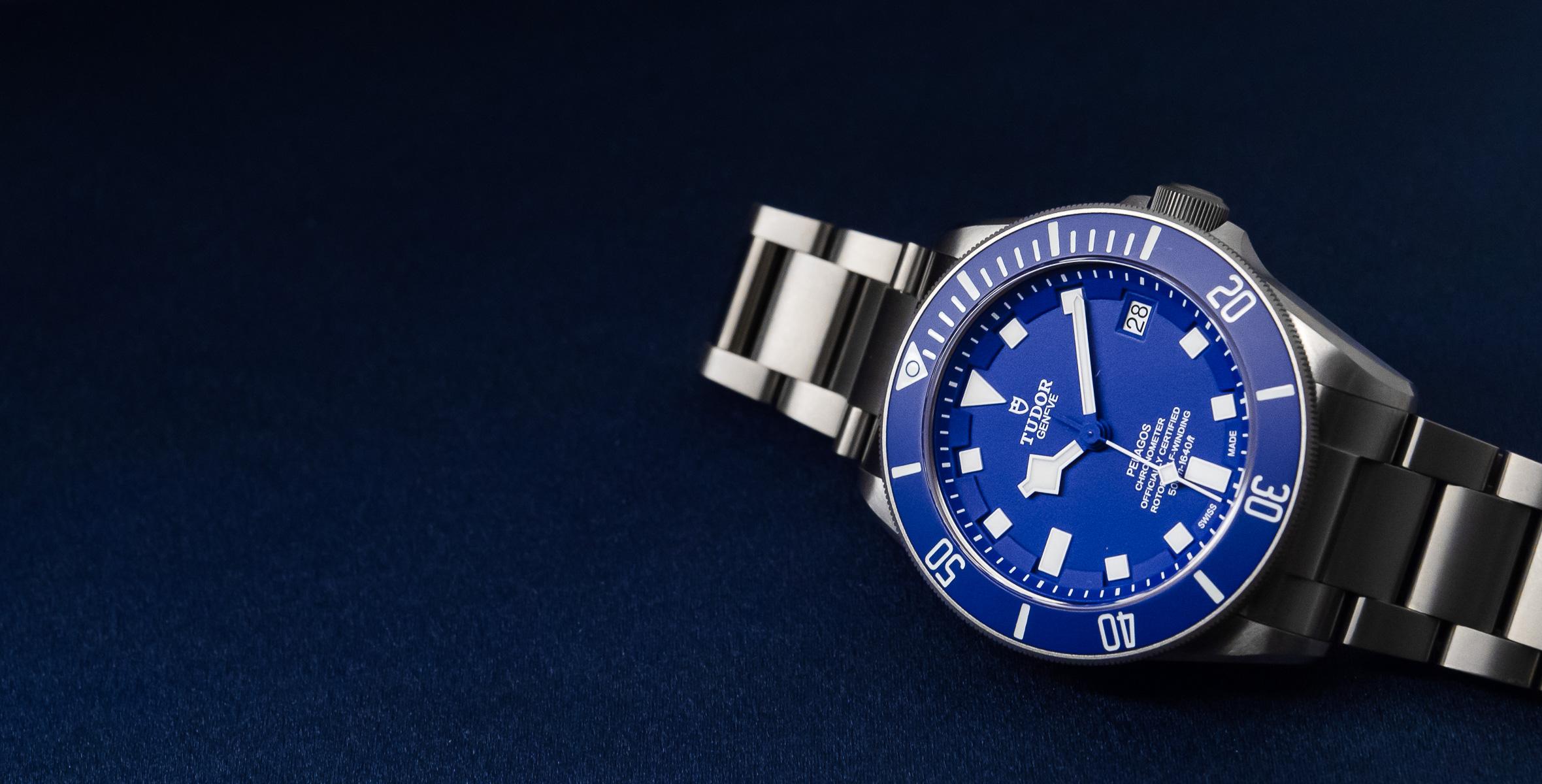 Hands On The Tudor Pelagos Blue Ref 25600tb Time And