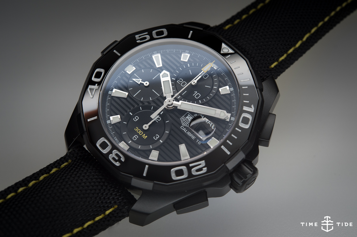 Tag: TAG Heuer Aquaracer 300 Calibre 16 Chronograph Ceramic