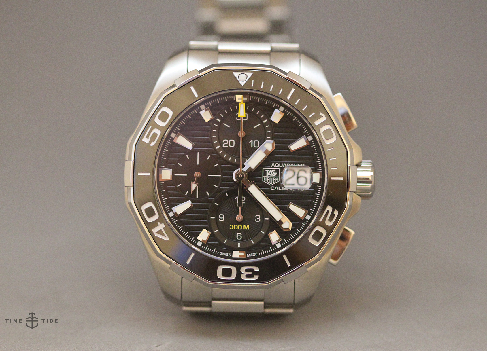 This Tag: TAG Heuer Aquaracer 300 Calibre 16 Chronograph Ceramic