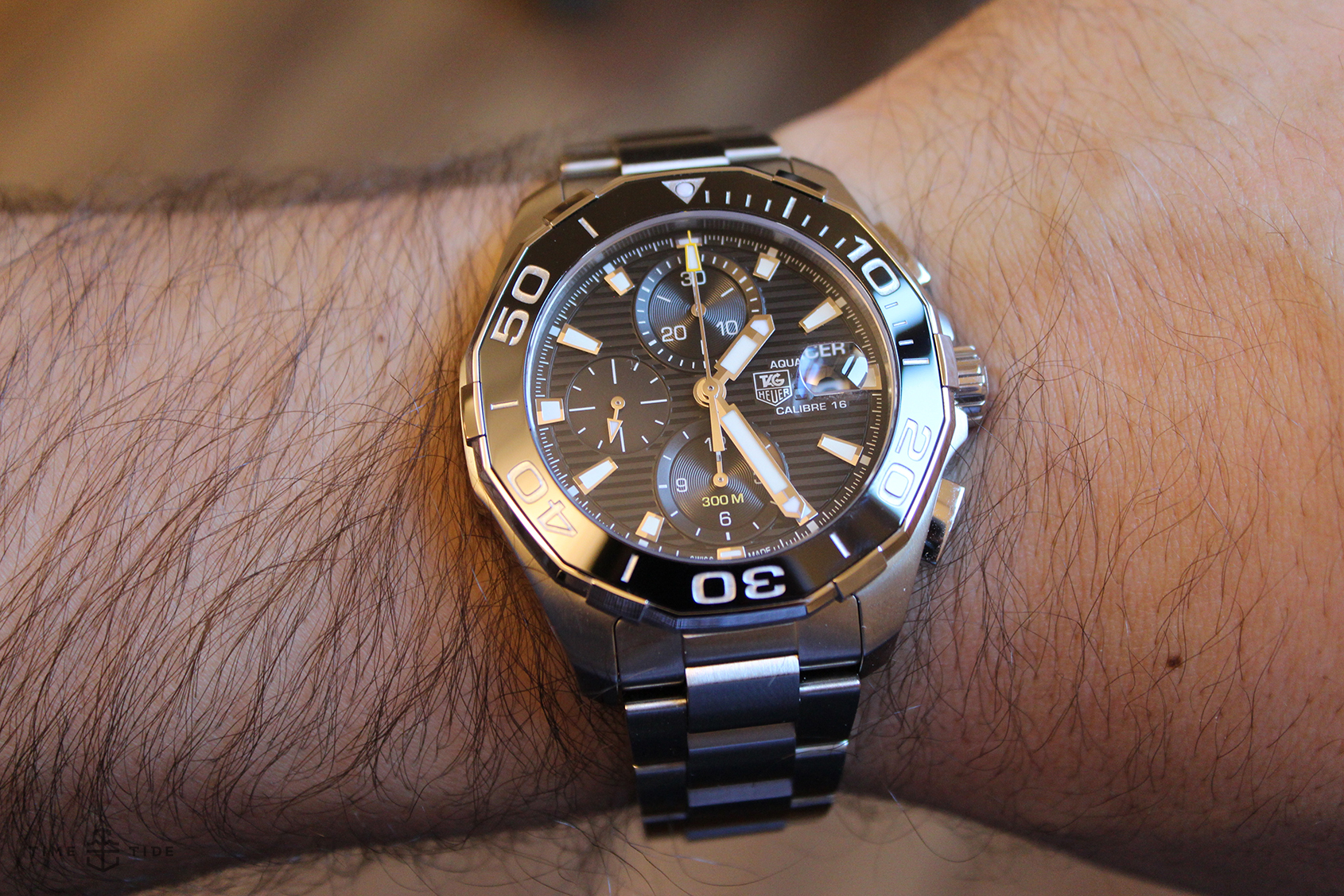 Tag: TAG Heuer Aquaracer 300 Calibre 16 Chronograph Review