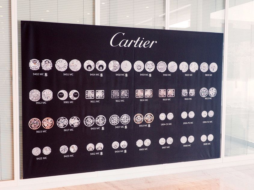 Cartier In-house movements