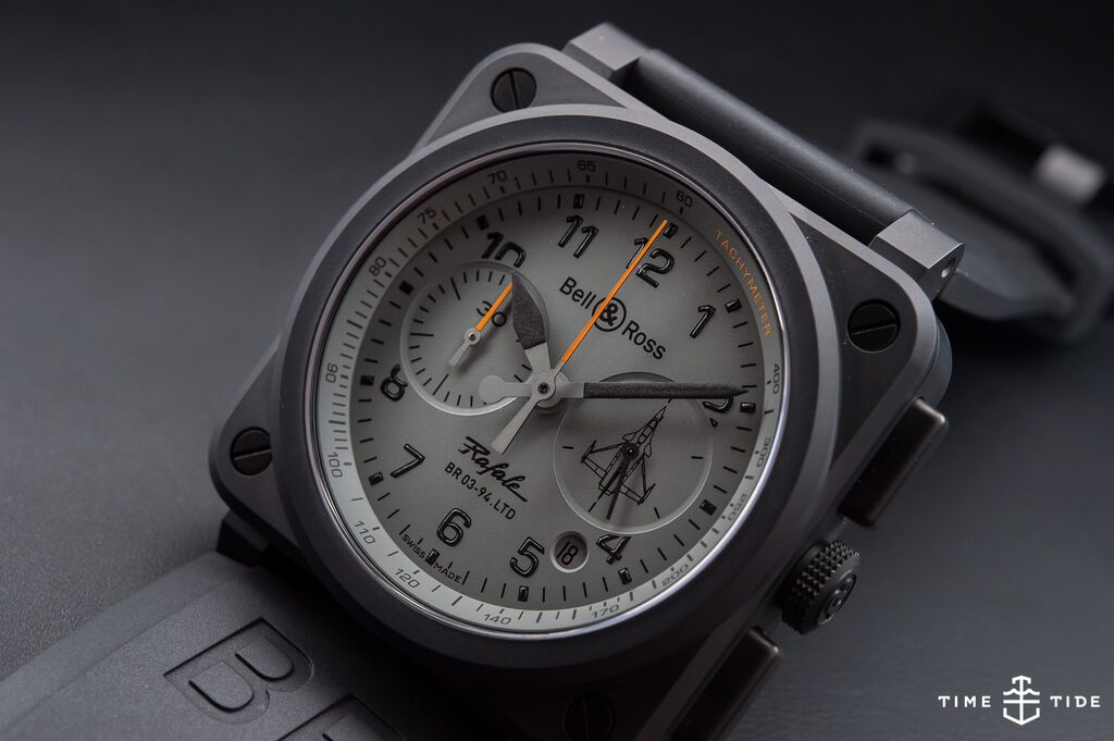Bell & Ross BR03-94 Rafale – Hands-on Review