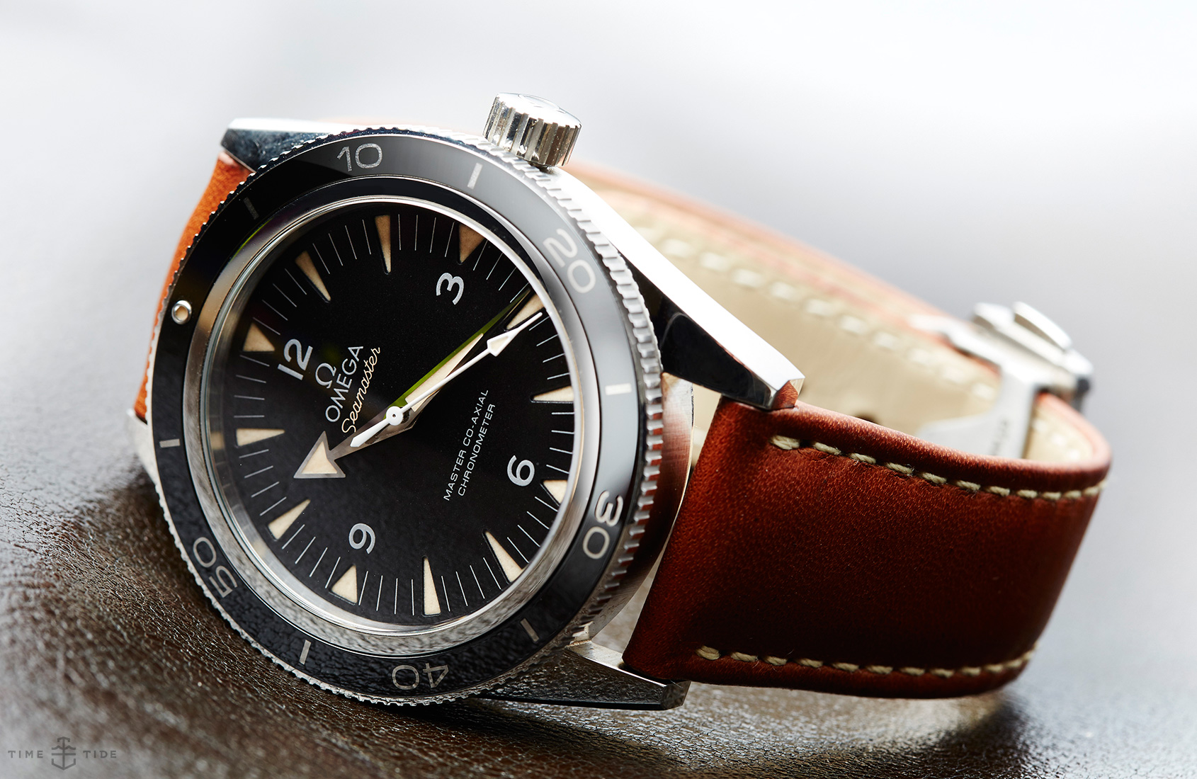 In depth the omega seamaster 300 master co axial time and tide watches for Omega watch seamaster