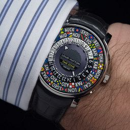 IN PRINT: Unpacking the Louis Vuitton Escale Time Zone with Hamdi Chatti