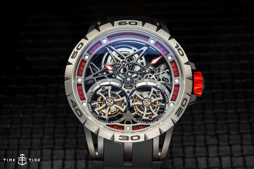 Roger Dubuis Excalibur Spider Double Flying Tourbillon-2
