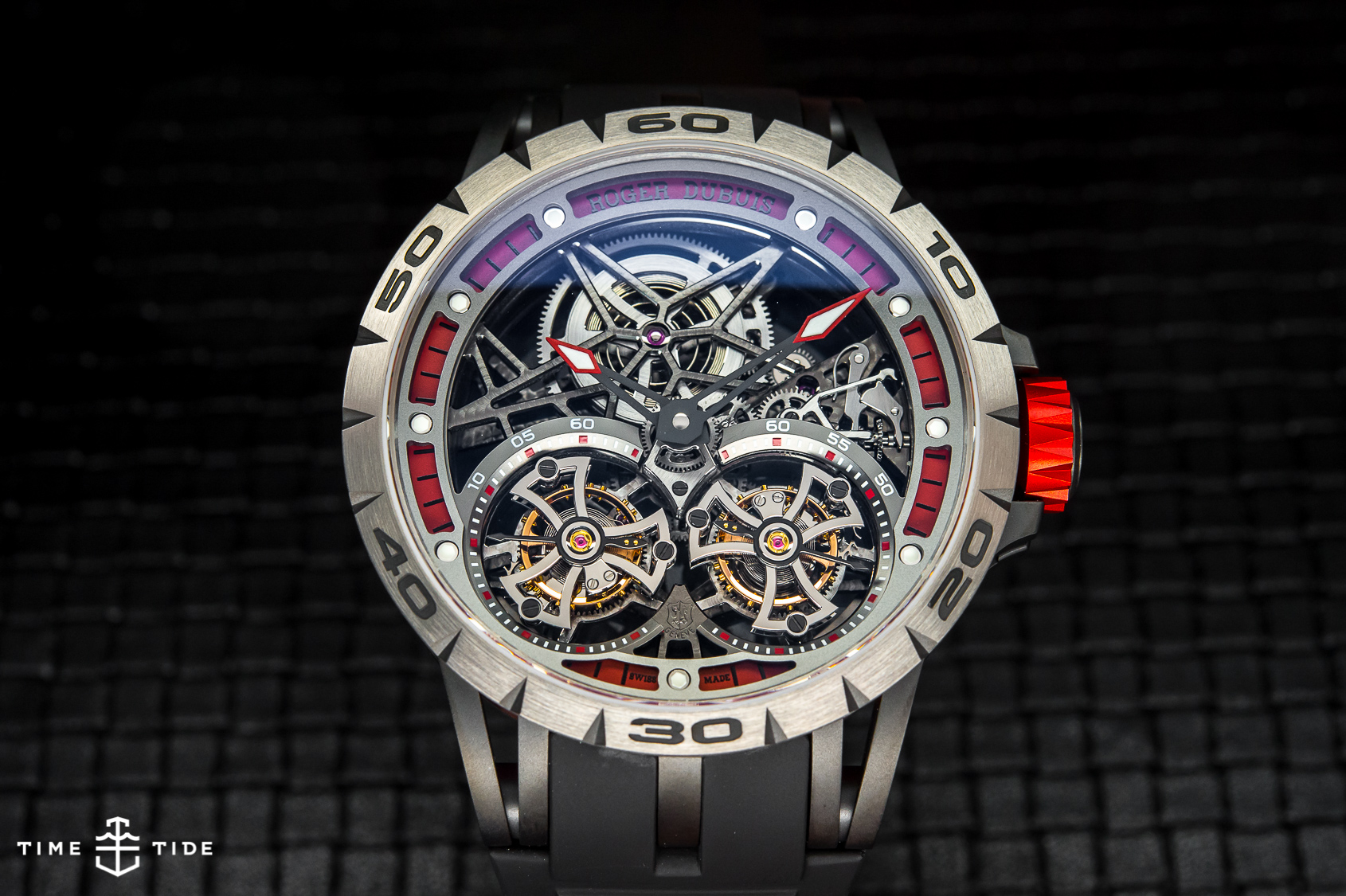 Roger Dubuis Excalibur Spider Double Flying Tourbillon ...