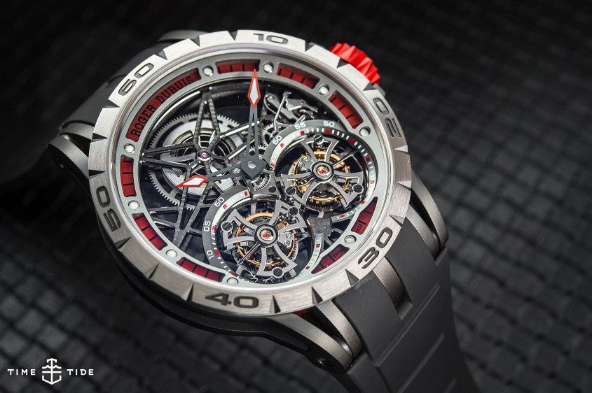 Roger Dubuis Excalibur Spider Double Flying Tourbillon-4
