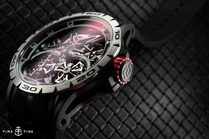 Roger Dubuis Excalibur Spider Double Flying Tourbillon-5