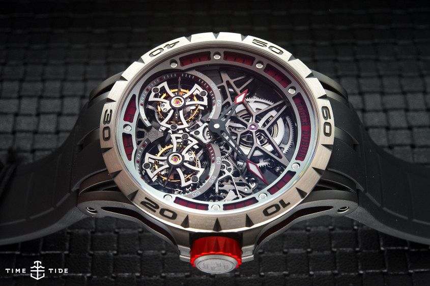 Roger Dubuis Excalibur Spider Double Flying Tourbillon-6