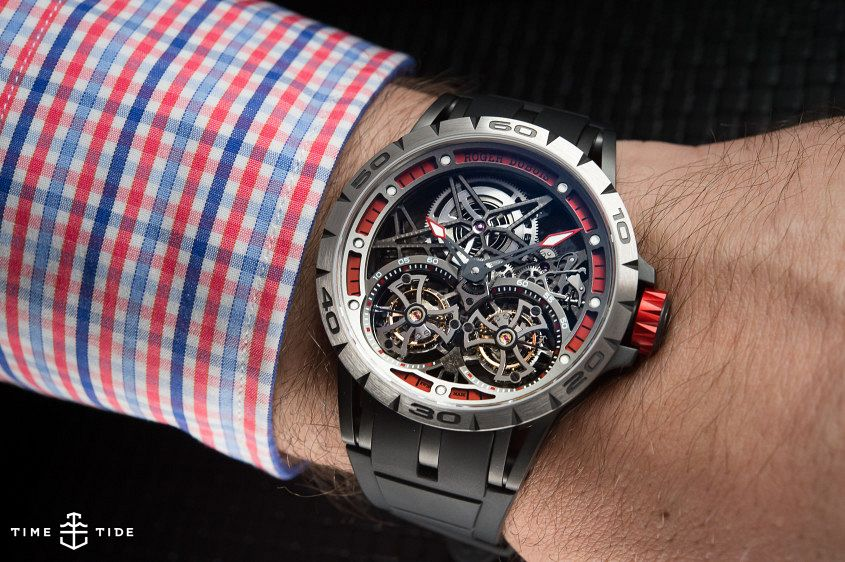 Roger Dubuis Excalibur Spider Double Flying Tourbillon-7
