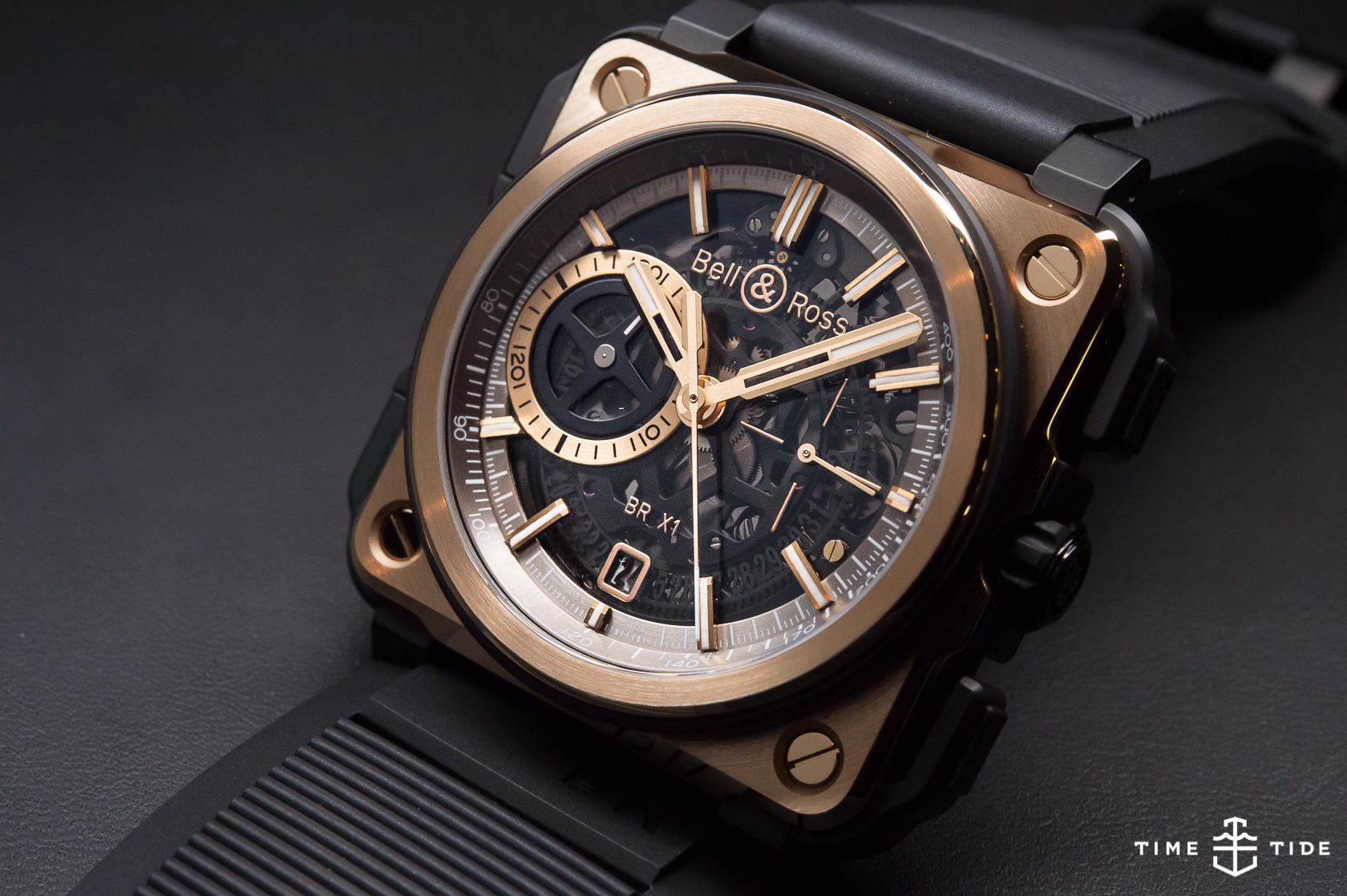 Bell And Ross Gold Watch