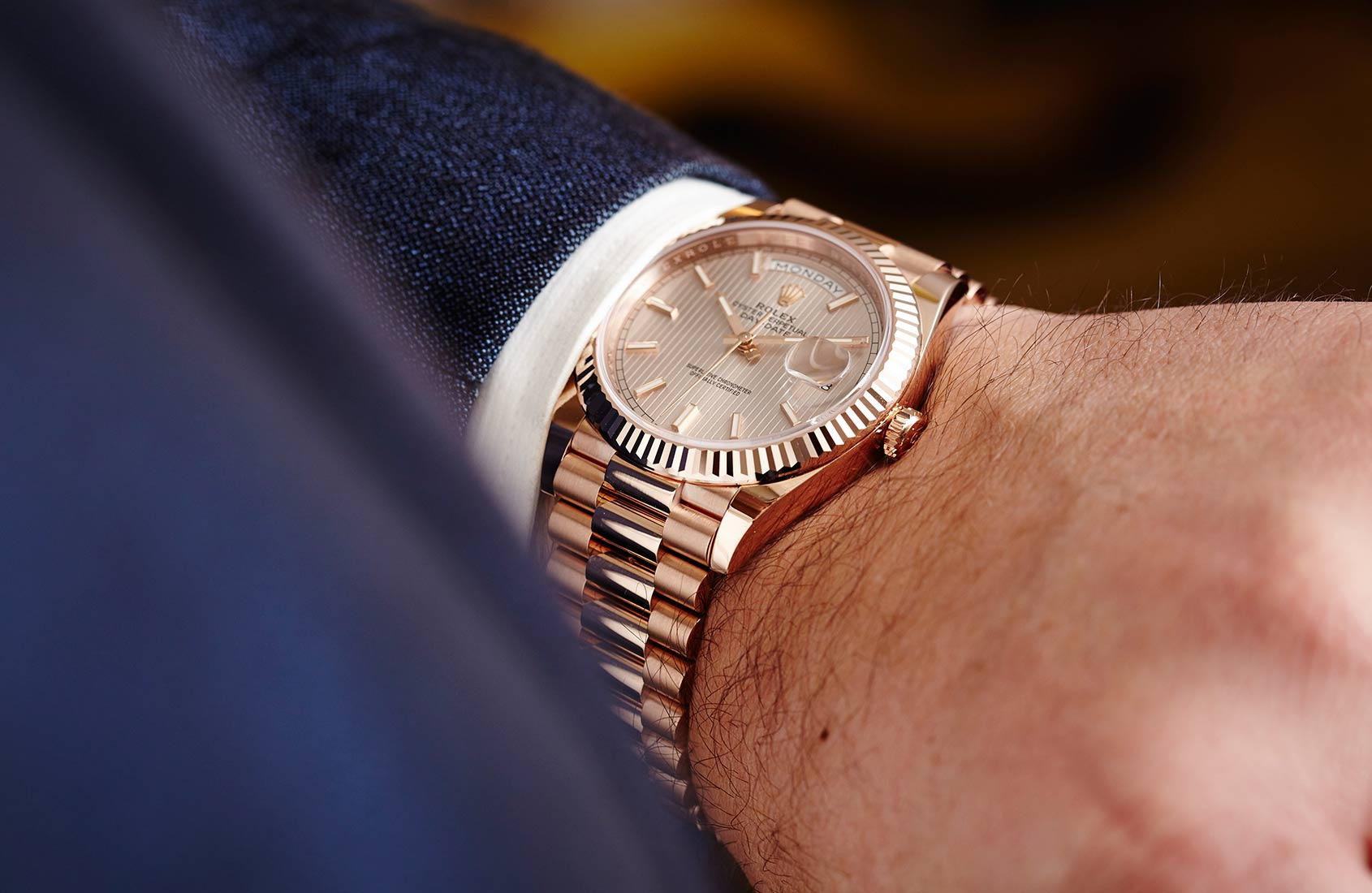 """Rolex Oyster Perpetual Day-Date 40 Calibre 3255 Watch""的图片搜索结果"
