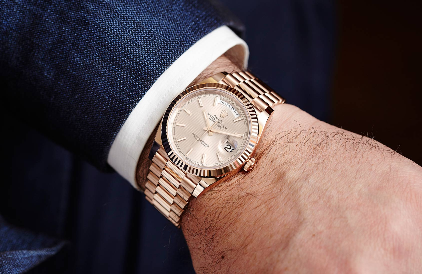 IN-DEPTH: The Rolex Oyster Perpetual Day-Date 40 ref 228235 with ...