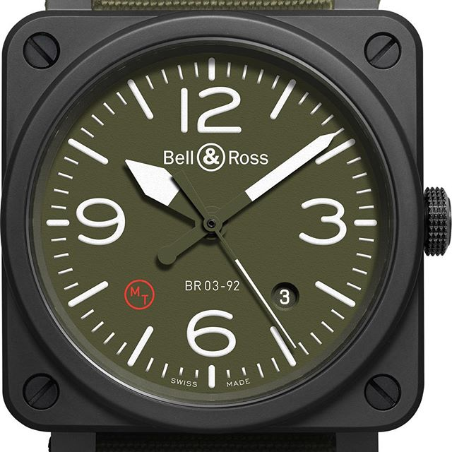 @bellrosswatches Military Type. For the strong, military type. $5900AUD ️