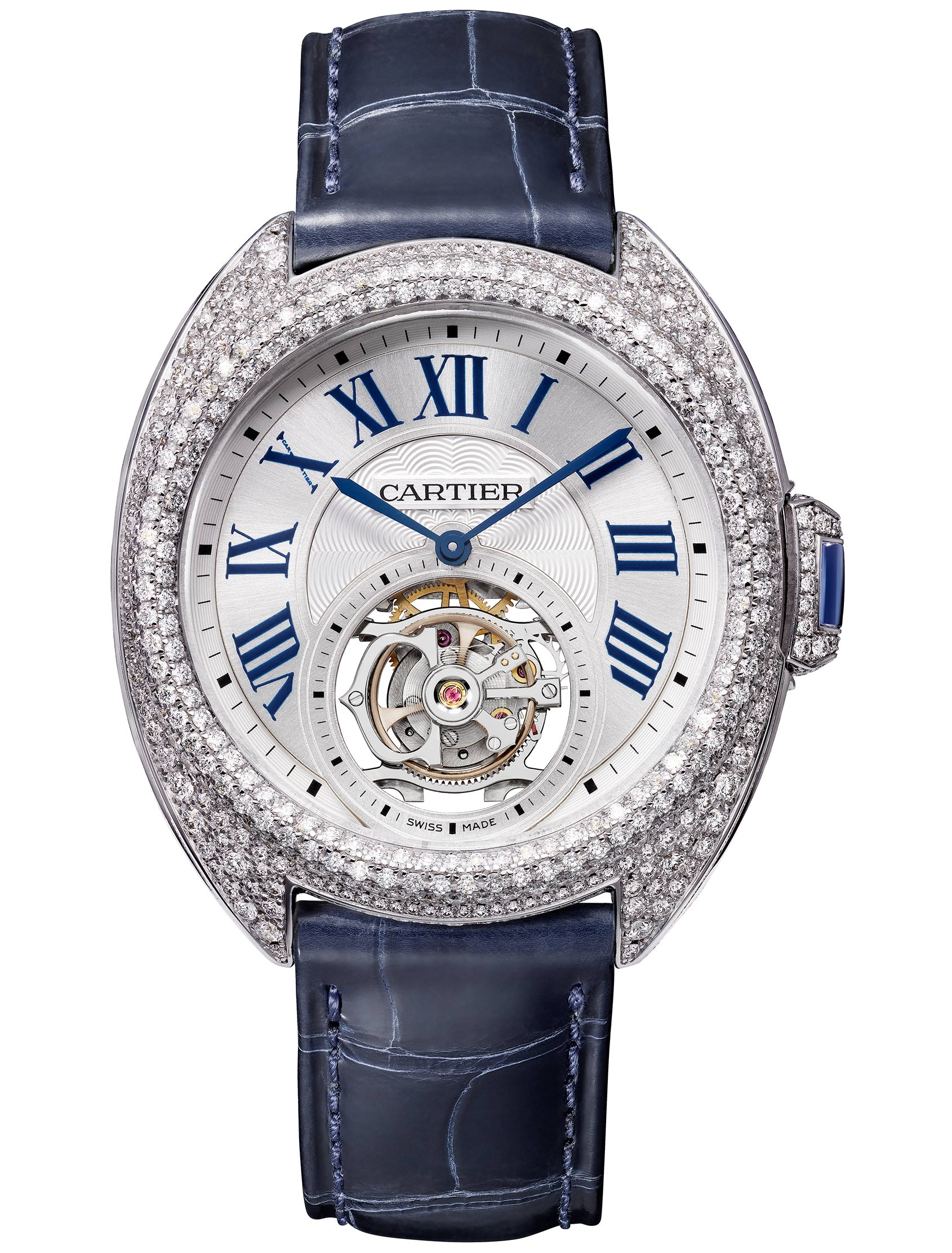 tank flying cartier in watches white gold ricaine americaine tourbillon am